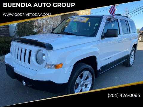 2012 Jeep Patriot for sale at BUENDIA AUTO GROUP in Hasbrouck Heights NJ