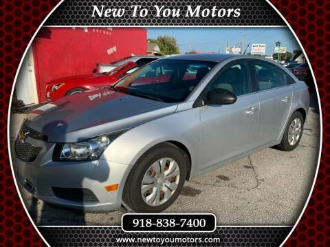 2012 Chevrolet Cruze for sale at New To You Motors in Tulsa OK