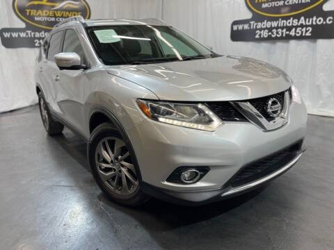 2015 Nissan Rogue for sale at TRADEWINDS MOTOR CENTER LLC in Cleveland OH