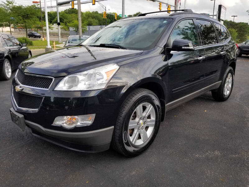 2012 Chevrolet Traverse for sale at Cedar Auto Group LLC in Akron OH