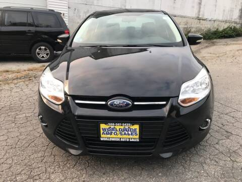 2012 Ford Focus for sale at Worldwide Auto Sales in Fall River MA