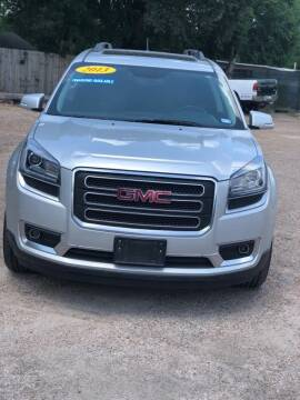 2013 GMC Acadia for sale at Texas Luxury Auto in Houston TX
