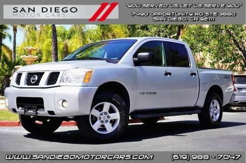 2005 Nissan Titan for sale at San Diego Motor Cars LLC in San Diego CA