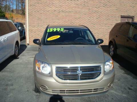 2010 Dodge Caliber for sale at Mike Lipscomb Auto Sales in Anniston AL