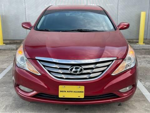 2012 Hyundai Sonata for sale at Delta Auto Alliance in Houston TX