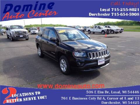 2014 Jeep Compass for sale at Domine Auto Center in Loyal WI