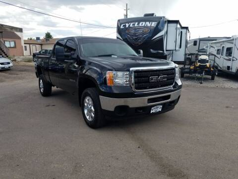 2012 GMC Sierra 2500HD for sale at BERKENKOTTER MOTORS in Brighton CO