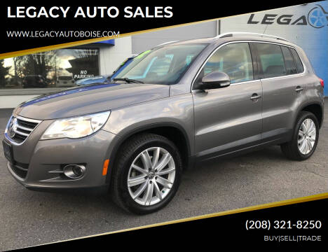 2011 Volkswagen Tiguan for sale at LEGACY AUTO SALES in Boise ID