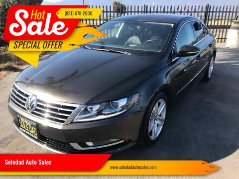 2013 Volkswagen CC for sale at Soledad Auto Sales in Soledad CA