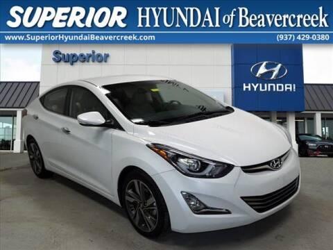 2015 Hyundai Elantra for sale at Superior Hyundai of Beaver Creek in Beavercreek OH