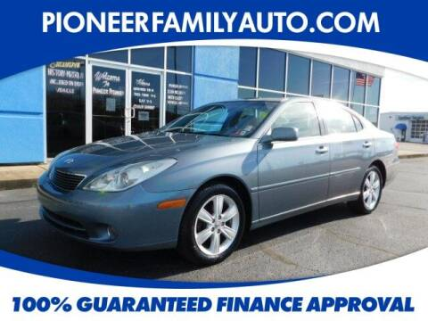 2005 Lexus ES 330 for sale at Pioneer Family Preowned Autos in Williamstown WV