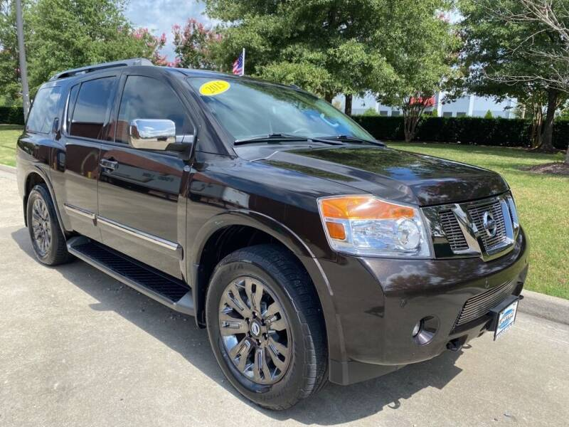 2015 Nissan Armada for sale at UNITED AUTO WHOLESALERS LLC in Portsmouth VA