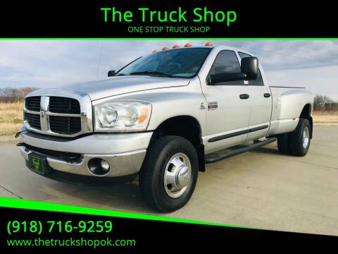 2007 Dodge Ram Pickup 3500 for sale at The Truck Shop in Okemah OK