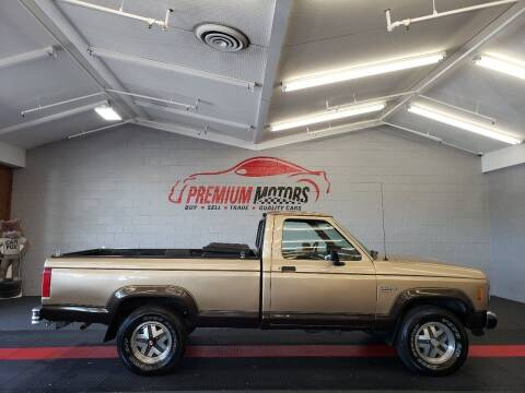 1988 Ford Ranger for sale at Premium Motors in Villa Park IL