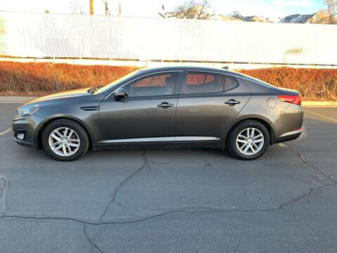 2013 Kia Optima for sale at BITTON'S AUTO SALES in Ogden UT