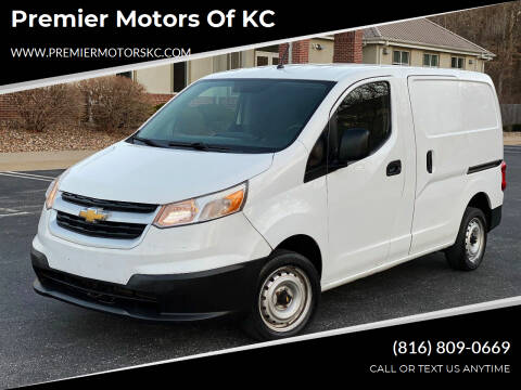 2015 Chevrolet City Express Cargo for sale at Premier Motors of KC in Kansas City MO