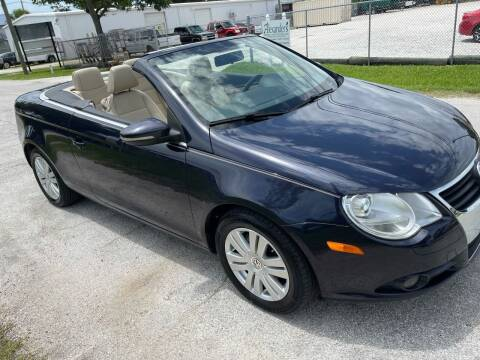 2010 Volkswagen Eos for sale at Ultimate Autos of Tampa Bay LLC in Largo FL