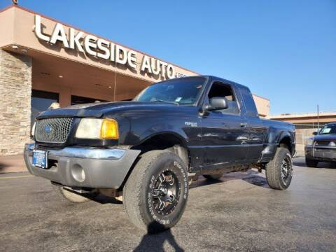 2001 Ford Ranger for sale at Lakeside Auto Brokers Inc. in Colorado Springs CO