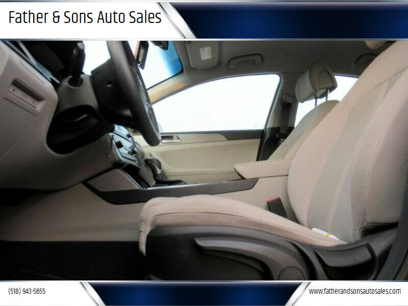 2017 Hyundai Sonata for sale at Father & Sons Auto Sales in Leeds NY