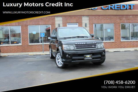 2011 Land Rover Range Rover Sport for sale at Luxury Motors Credit Inc in Bridgeview IL