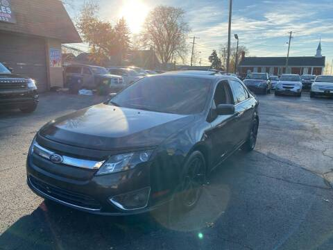 2011 Ford Fusion for sale at Billy Auto Sales in Redford MI