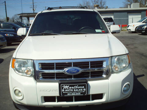 2012 Ford Escape for sale at Marlboro Auto Sales in Capitol Heights MD