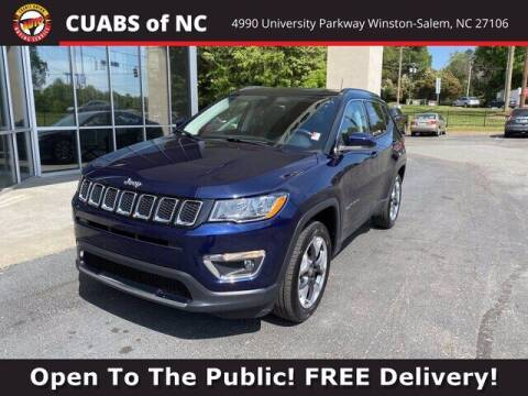 2018 Jeep Compass for sale at Summit Credit Union Auto Buying Service in Winston Salem NC