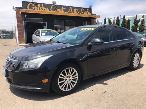 2013 Chevrolet Cruze for sale at Golden Coast Auto Sales in Guadalupe CA