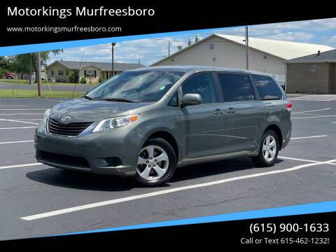 2012 Toyota Sienna for sale at Motorkings Murfreesboro in Murfreesboro TN