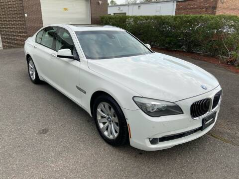 2011 BMW 7 Series for sale at International Motor Group LLC in Hasbrouck Heights NJ