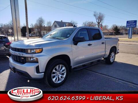 2021 Chevrolet Silverado 1500 for sale at Lewis Chevrolet Buick Cadillac of Liberal in Liberal KS