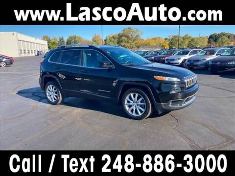 2017 Jeep Cherokee for sale at Lasco of Waterford in Waterford MI