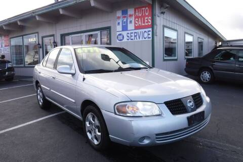 2006 Nissan Sentra for sale at 777 Auto Sales and Service in Tacoma WA
