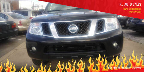 2010 Nissan Pathfinder for sale at K J AUTO SALES in Philadelphia PA