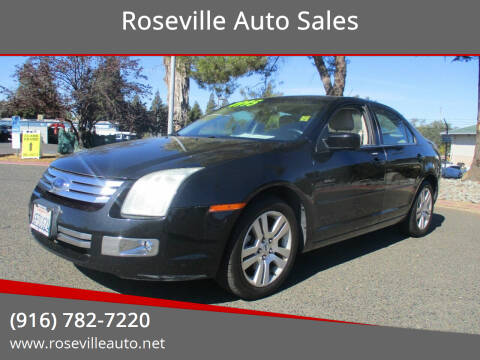 2009 Ford Fusion for sale at Roseville Auto Sales in Roseville CA