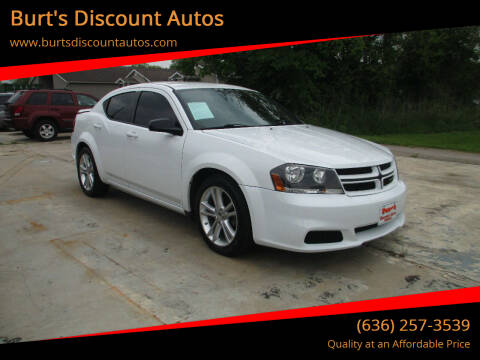 2014 Dodge Avenger for sale at Burt's Discount Autos in Pacific MO