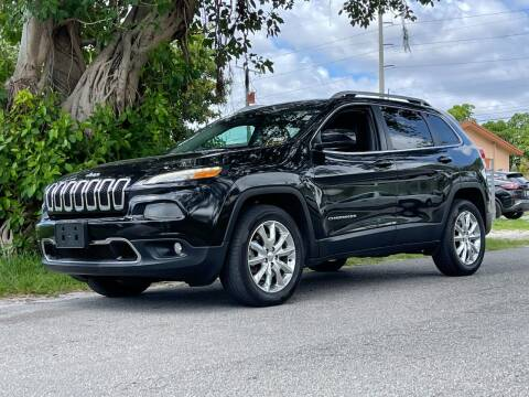 2016 Jeep Cherokee for sale at Auto Direct of South Broward in Miramar FL
