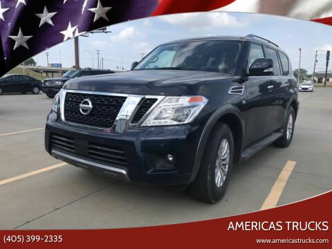 2020 Nissan Armada for sale at Americas Trucks in Jones OK