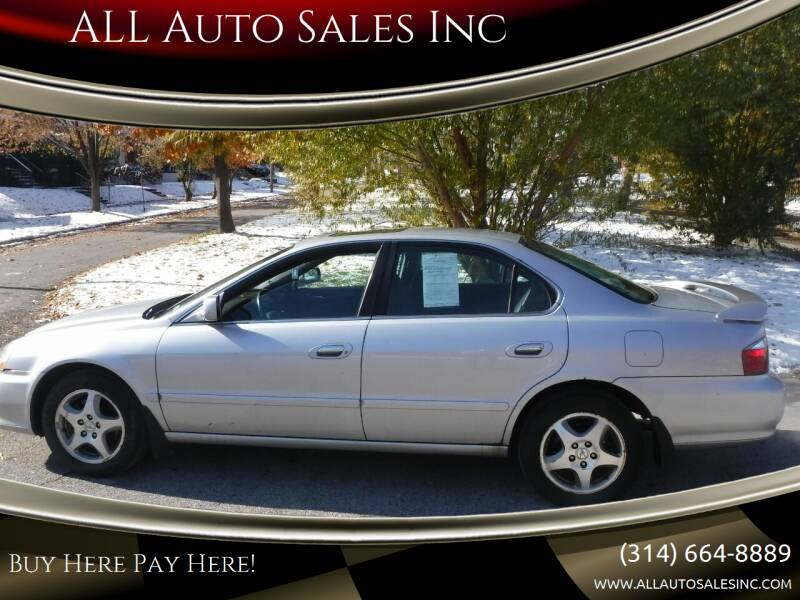 2002 Acura TL for sale at ALL Auto Sales Inc in Saint Louis MO