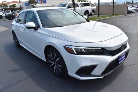 2022 Honda Civic for sale at DIAMOND VALLEY HONDA in Hemet CA