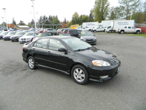 2004 Toyota Corolla for sale at J & R Motorsports in Lynnwood WA