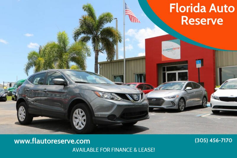 2018 Nissan Rogue Sport for sale at Florida Auto Reserve in Medley FL