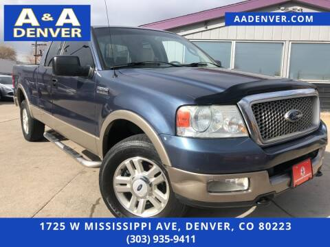 2004 Ford F-150 for sale at A & A AUTO LLC in Denver CO