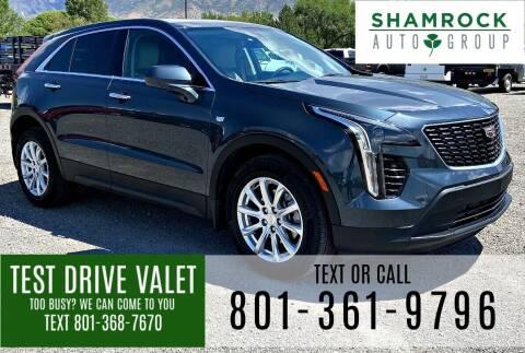 2019 Cadillac XT4 for sale at Shamrock Group LLC #1 in Pleasant Grove UT