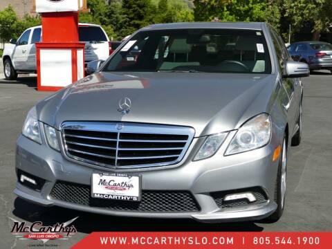 2011 Mercedes-Benz E-Class for sale at McCarthy Wholesale in San Luis Obispo CA