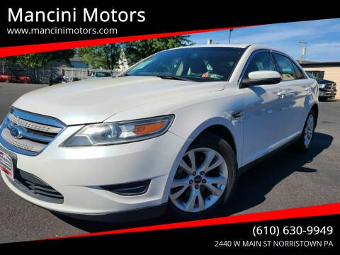 2012 Ford Taurus for sale at Mancini Motors in Norristown PA