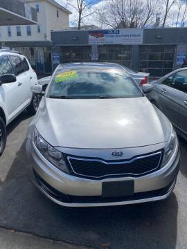 2011 Kia Optima for sale at Olsi Auto Sales in Worcester MA