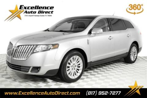 2012 Lincoln MKT for sale at Excellence Auto Direct in Euless TX
