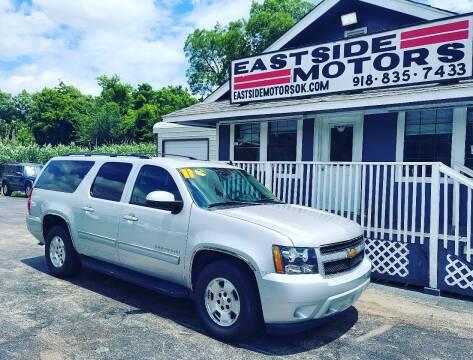 2011 Chevrolet Suburban for sale at EASTSIDE MOTORS in Tulsa OK