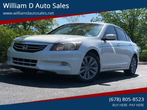 2011 Honda Accord for sale at William D Auto Sales in Norcross GA